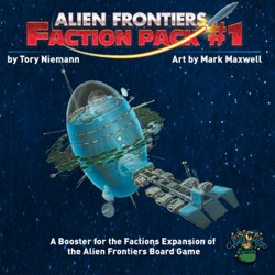 Alien Frontiers: Factions Pack 1 (1st printing - English version)
