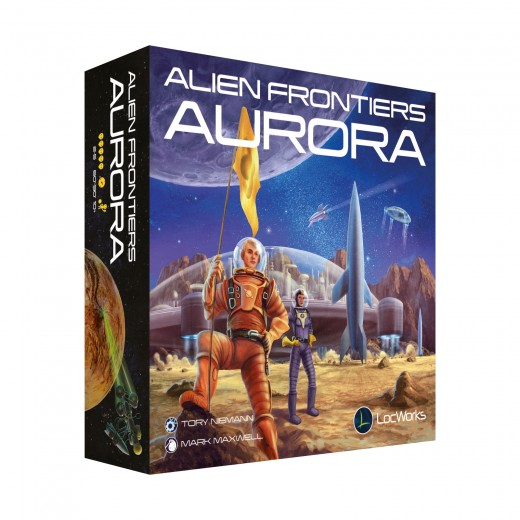 Alien Frontiers: Aurora German Alien Technology Cards