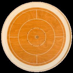 Crokinole beech mini board (62 cm)